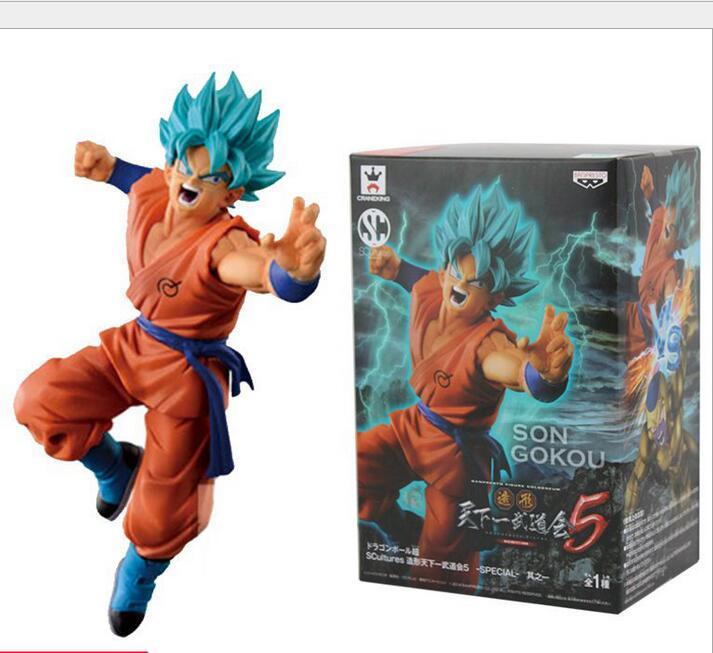 15cm Super Saiyan God Son Goku Freeza Dragon Ball Z PVC Collection Action figures toys for kids gift brinquedos Free shipping<br><br>Aliexpress