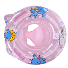 Baby Double Handle Safety Seat Float Swim Ring Inflatable Infant Kids Swimming Pool Rings Water Toys Swim Circle for Activity(China)