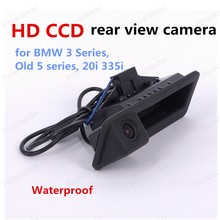 big sale HD CCD car Rear view camera for BMW 3 Series Old 5 series 20i 335i 700TVL handle camera(China)
