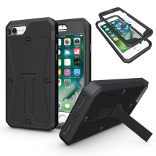 3in1 Heavy Duty Hybrid Tank Armor Case Full Body Shockproof Protective Kickstand Hard Cover Case For Apple iPhone 6 6S 7 Plus @