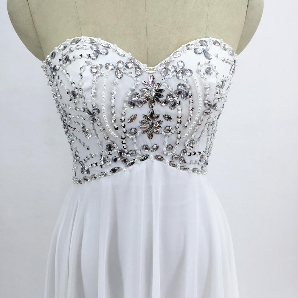Sexy Chiffon A Line Beach Wedding Dresses Vintage Boho Cheap Bridal Gowns Vestidos De Novia Robe De Mariage Bridal Gown in stock 3