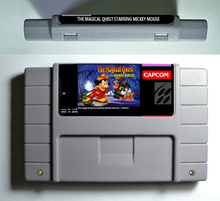 The Magical Quest starring Mickey Mouse - Action Game Cartridge 16 bit 46 pin USA Version