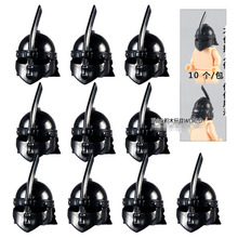 PG2006 Kight Helmet Rome Kingdom MEDIEVAL WEAPON Gladiatus Knights for MINIFIG Action Figure assemble Building Blocks Kids Toys(China)