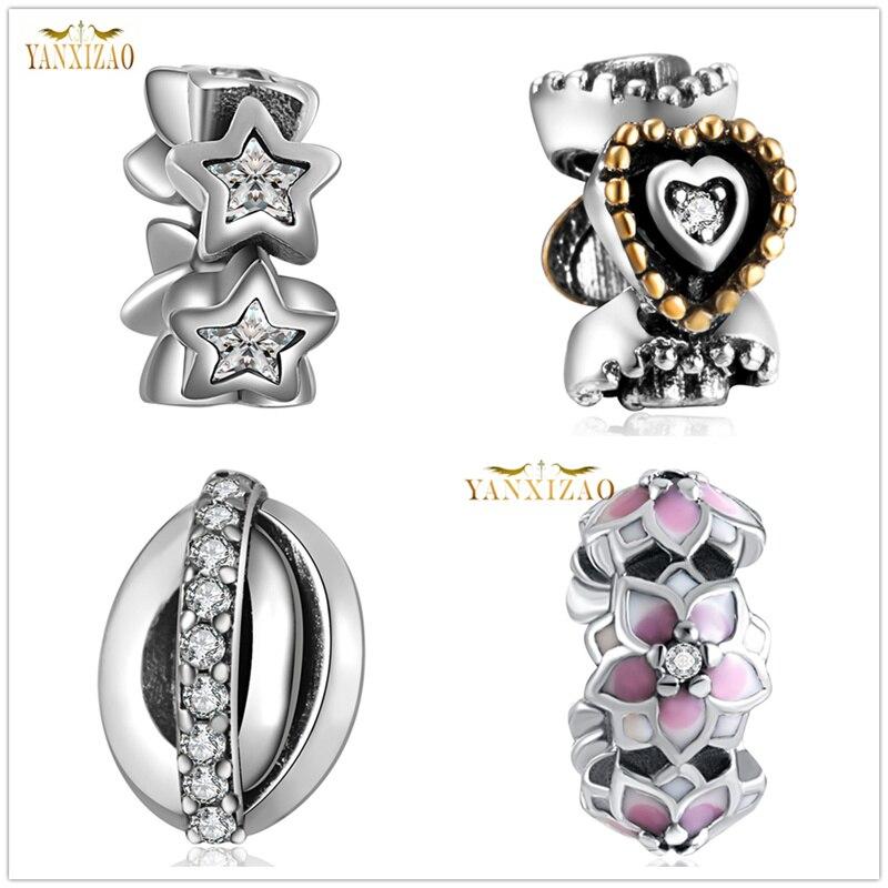 Sterling Silver Lovely Spirit Ghost Bead For European Charm Bracelets 10mm