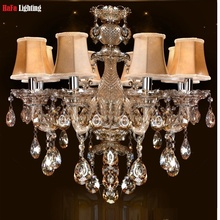 vintage chandelier FREE SHIPPING indoor lighting contemporary crystal chandeliers bedroom chandeliers dining room Chandelier(China)