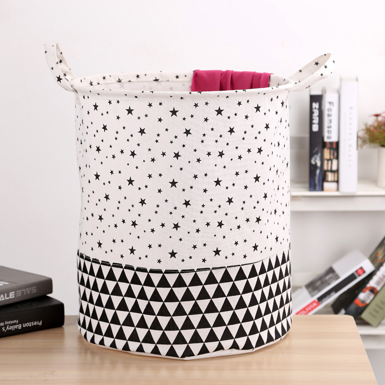 Free shipping Laundry Basket Storage 40*50cm Large Basket For Toy Washing Basket Dirty Clothes Sundries Storage Baskets Box 19