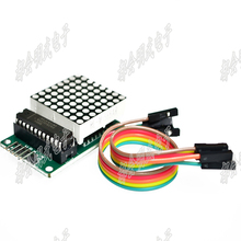 Buy MAX7219 Dot Led Matrix Module MCU LED Display Control Module Kit Arduino 5V Interface Module 8x8 for $1.39 in AliExpress store