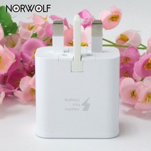 NORWOLF Quick Charger 2.0 USB Wall Charger Mobile Charger For iPhone 7 6s Sunmsung XiaoMi HuaWei UK Plug Charger Activity angle(China)