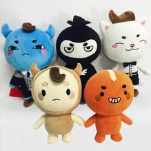 Buckwheat king Ghosts red beans Li dong xu Plush Toys Doll Pillow Stuffed Kids Gift baby Fashion 25cm NEW Anime(China)
