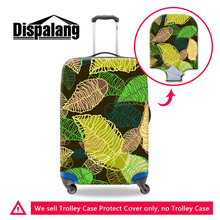 Dispalang Leaf 3D Luggage Protective Covers Elastic Suitcase Dust Covers Apply to 18-30 Inch Cases Travel Luggage Accessories