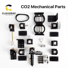 Cloudray CO2 Laser Mechanical Parts Metal Components for DIY CO2 Laser Engraving Cutting Machine Model B(China)