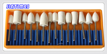 Free Shipping 13PC Felt Buffing Wheels Watch Crystal Polishing Set For Dremel Rotary tools(China)