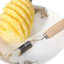 Useful Fruit Pineapple Peeler Corer Slicers Cutter Easy Pineapple Knife Fruit Salad Tools kitchen accessories(China)