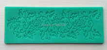 1Pcs NEW Lace gumpaste mat, TC 3675 Soft Silicone Cake Fondant Embossing Gumpaste Decorating Mold Tool(China)