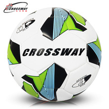 CROSSWAY Brand Soccer Ball Football Ball Size 4 Official Anti-slip PU Slip-Resistant Standard Match Training Champions Football