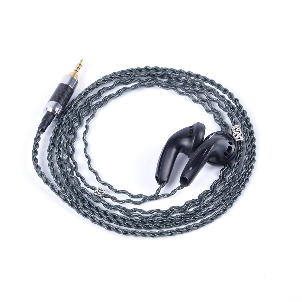 Original K's Earphone 500 ohm 2.5mm Balanced Plug Two Version High Impedance In Ear Earphone Earbud 500 ohms Earbud Flat Plug