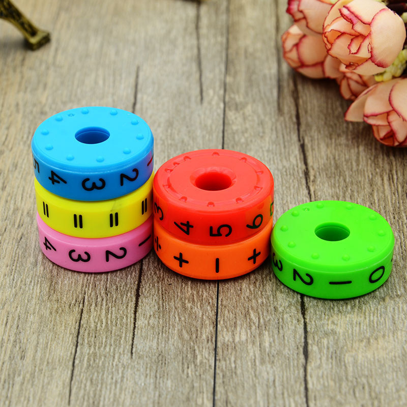 6pcs-set-6-3cm-Mini-Magnetic-Plastic-Number-Children-DIY-Assembling-Puzzles-Preschool-Learning-Assistant-for
