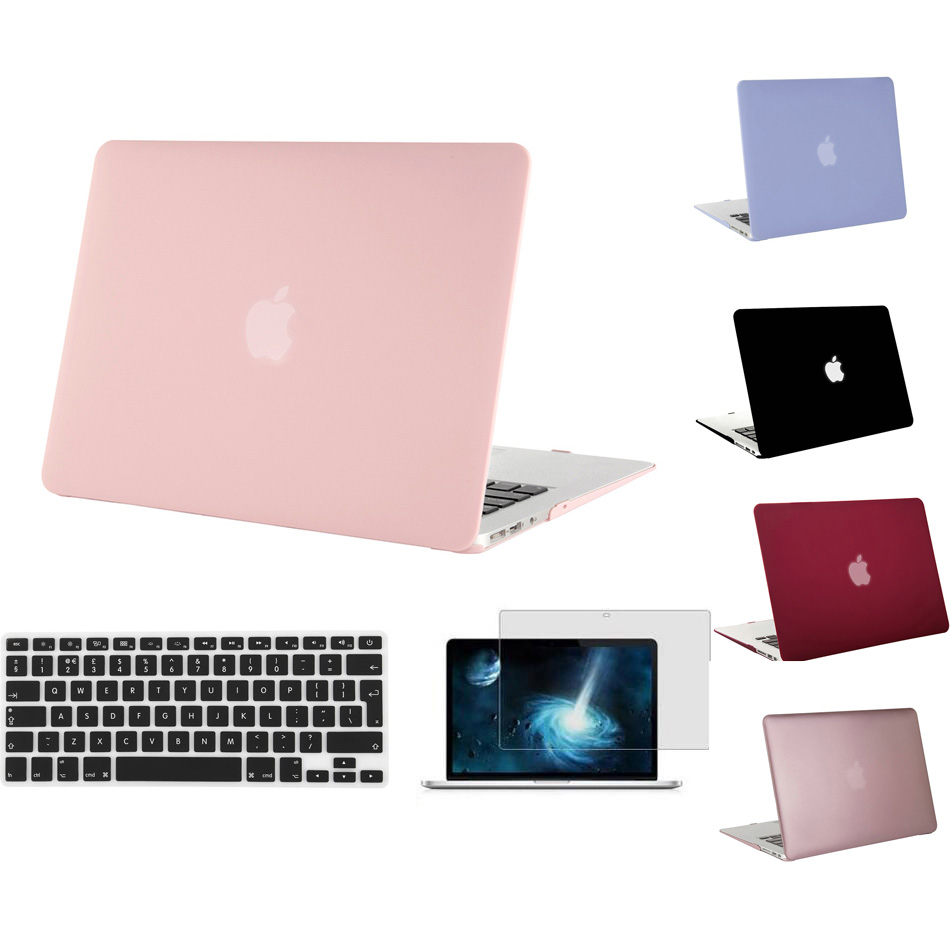 MOSISO for Apple Macbook Air 13 Plastic Hard Case Cover for Mac book Pro 13 Retina 13.3 Laptop Shell+Keyboard Cover+Screen Film<br><br>Aliexpress