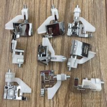 Mini Sewing Machine Clip On Blind Foot Feet For Brother Janome Singer Domestic Sewing Machine(China)