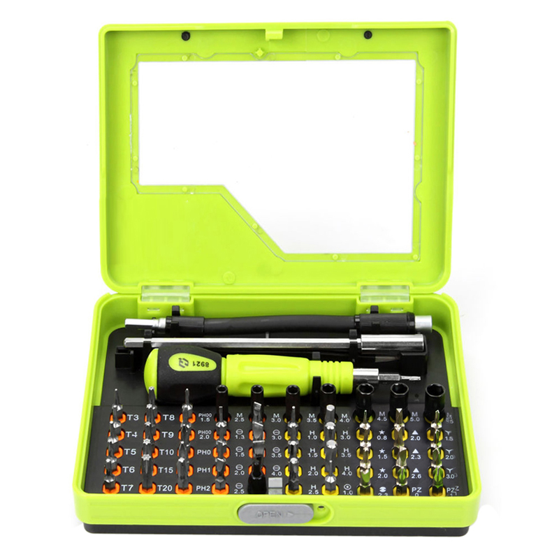 53 in1 Multi-purpose Precision Torx Magnetic Screwdriver Tool Set Tweezer Cell Phone Repair Tool for Mobile Phone PC Hand Tools<br><br>Aliexpress