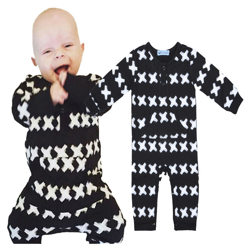 baby boy romper long sleeve newborn baby boy rompers new 2016 spring autumn cross print long-sleeve romper for boy baby clothes<br><br>Aliexpress