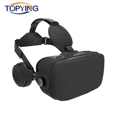 All In One VR Headset VR Glasses 3D Virtual Reality Goggles VR HDMI Android 5.1 920*1080P 32G ROM 2G RAM 120 FOV With Headphone