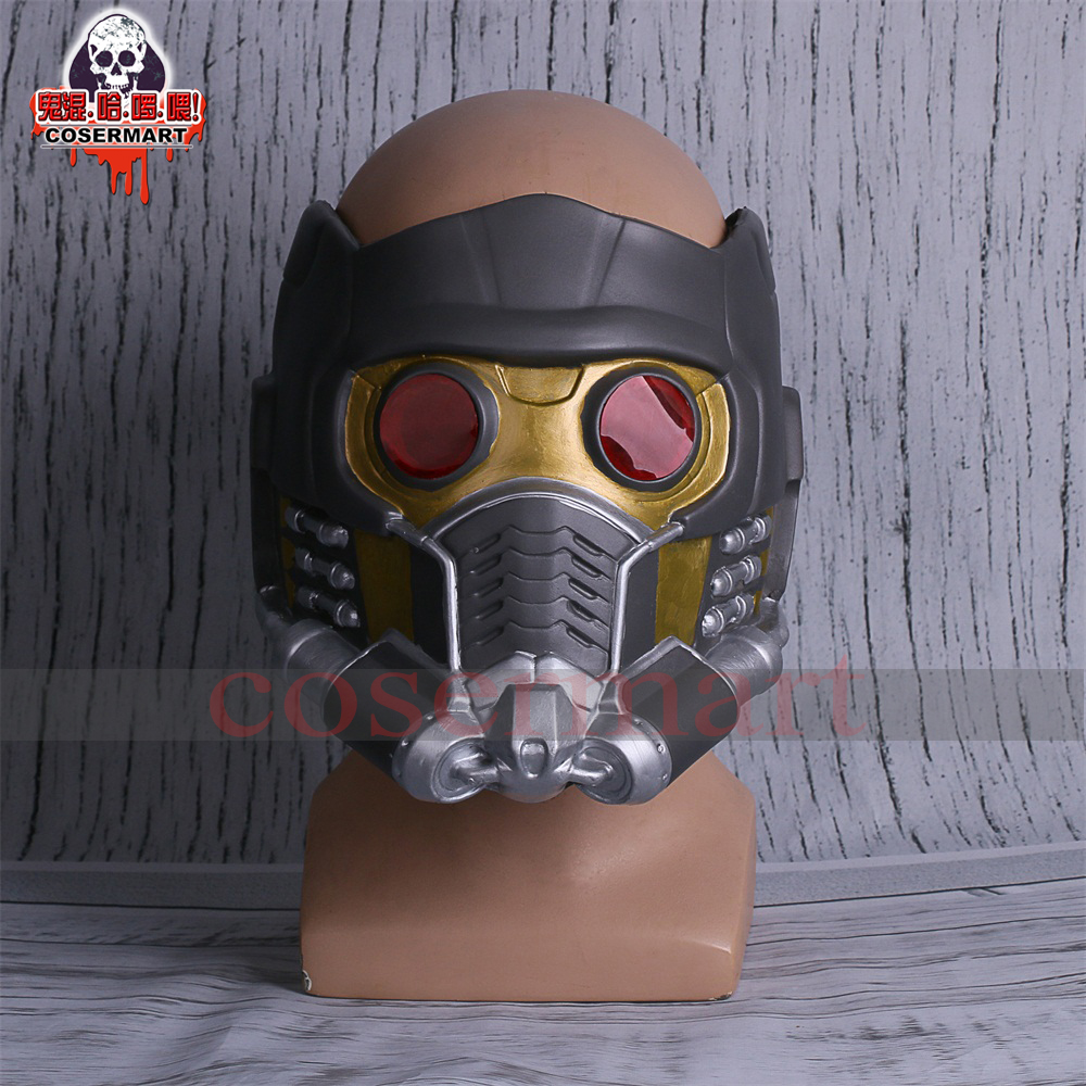 Guardians of the Galaxy Helmet Mask Cosplay Peter Quill Helmet Latex Star Lord Helmet Halloween Party Mask Adults (5)