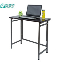 Free assembly notebook computer desk Easy Folding dormitory desk small desk study tables 10 provinces shipping(China)