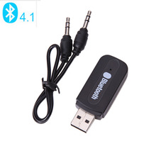 BT 4.1 Bluetooth Audio Music Receiver Dongle Adapter Wireless USB Bluetooth Music Receiver 3.5MM AUX for Iphone Samsung