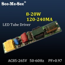 9W 12W 16W 18W LED Driver Non-isolation 110V 220V for 0.6M 0.9M 1.2M T5 T8 T10 Tube constant-current Power Supply SMDY-2