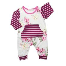 Summer Baby Romper Newborn Jumpsuits Rompers Baby Product Baby Boy Girl Clothes Long Sleeve T-Shirt
