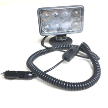 12v 24v on/off switch Magnetic Universal install Led spotlight Car driving fog light 4x4 offroad truck headlight Rescue search(China)