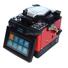Free Shipping Multilanguage Multifunction FTTH Fiber Optic Splicing Machine Fusion Splicer