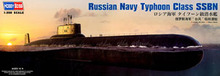 HORBY BOSS 83532 Russian Navy Typhoon Class Ballistic Missile Nuclear Submarine