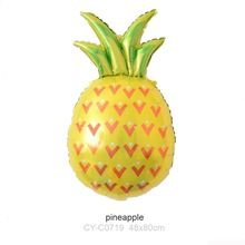 Fruit Foil Balloons Children Inflatable Toys Pineapple Balloons Birthday Party Decorations Kids Fruit Party Supplies