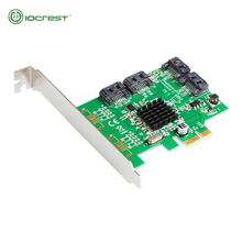 Marvell 88SE9215 4 Ports SATA 6G PCI Express Controller Card PCI-e To SATA III 3.0 Converter PCI Low Profile Bracket SATA3.0(China)