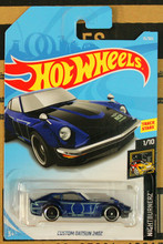 New Arrivals 2018 8a Hot Wheels 1:64 blue custom datsun 240z Car Models Collection Kids Toys Vehicle For Children(China)