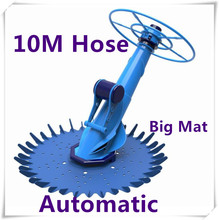 NEW 10m Above In Ground Auto Climbing Swimming Vacuum Pool Cleaner out-in door(China)