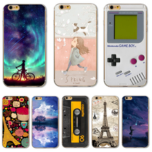 Soft TPU Cover For Apple iPhone 5 5S SE 6 6S 6Plus 7 7 Plus Case Phone Shell Funny Painted Wonderful Style Patterns Magical
