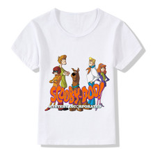 Buy Boys/Girls Cartoon Scooby Doo Mystery Machine Printed Funny T-shirts Baby Kids Summer Tops Tees Children Casual Clothes,HKP5085 for $5.24 in AliExpress store