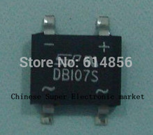 20pcs SMD DB107 DB107S 1A 1000V Single Phases Diode Rectifier Bridge(China)