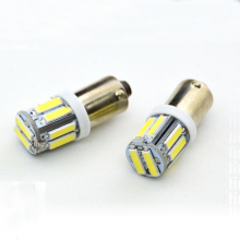 Yushuangyi Wholesale 100 PCS BA9S T4W 10 SMD 7014 7020 LED 10SMD Auto interior indicator side market light DC12V White