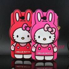 For LG G Pro Lite D680 HOT 3D Silicon Hello Kitty Bunny Soft Cell Phone Back Skin Cover Case for LG G Pro Lite D680 D686