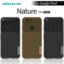 NILKIN For Google Pixel XL Cover NILLKIN Quality Nature Soft TPU for HTC Google Pixel Case Mobile Phone Transparent Back Cover(China)