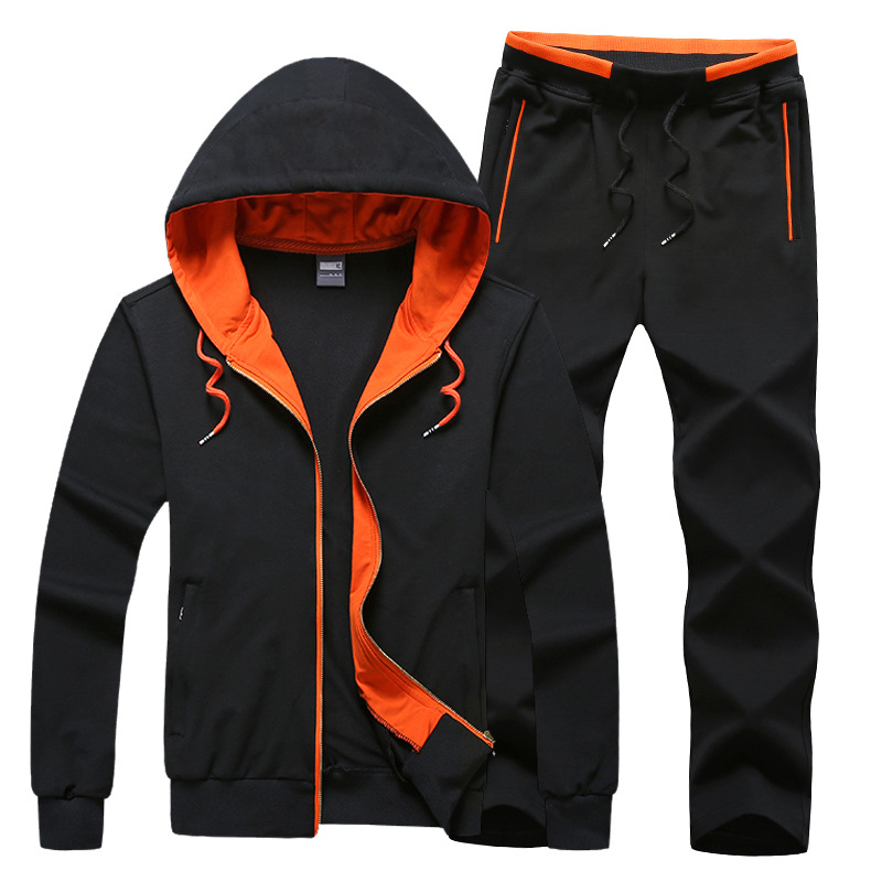 Brand Designer Hoodie sweater jacket+ jogger pants set male sport suits outdoor sportwear men leisure Tracksuit<br><br>Aliexpress