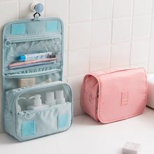 Oxford Cloth Waterproof Women Makeup Bag Large Travel Beauty Cosmetic Bag Trip Organizer Case Necessaries Make Up Toiletry Bag(China)