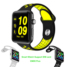 New Bluetooth Watch DM09 Plus GSM Watch Phone SIM Smart Watch Pedometer Sleep Tracker Sports Wristwatch for Iphone Android Phone