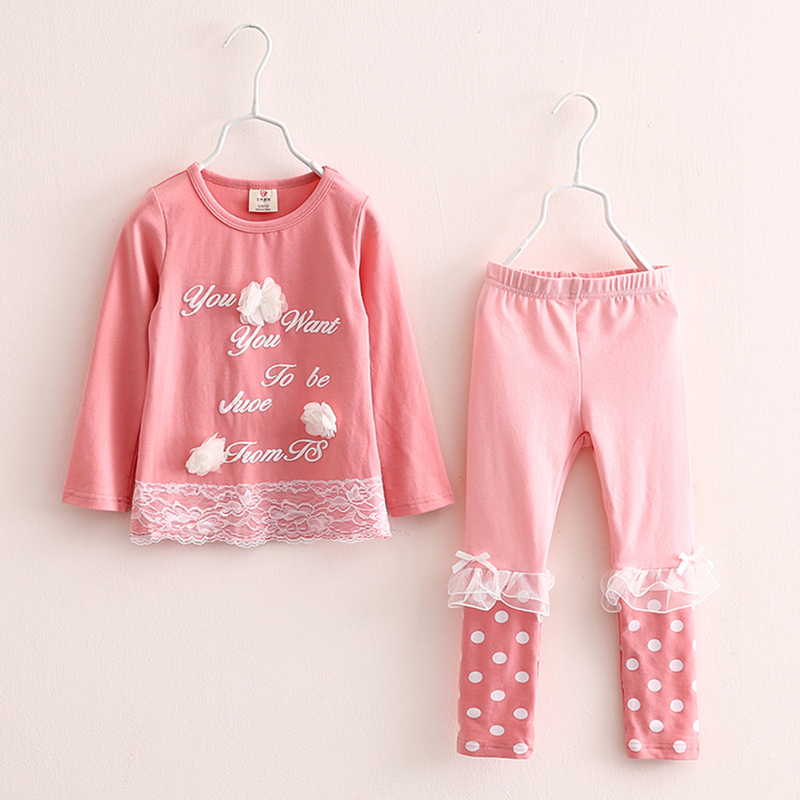 Girls Jacket Letter Kids Cardigan For Girls Long Sleeve+Baby Girl Pants Dot Girls Clothing Sets Casual Children Clothing 2191<br><br>Aliexpress