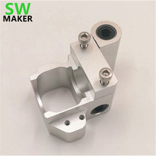 SWMAKER V6 Ultimaker upgrade conversion mount ,aluminum V6 hotend custom mount for Ultimaker 3D printer