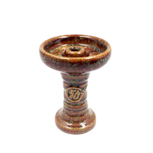 1 X Ceramic One Hole Phunnel Bowl Hookah Head Shisha Bowl Ferris Bowl Hookah With Grommet Made of Ceramic
